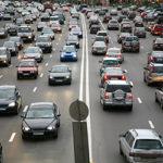 heavy commuter traffic